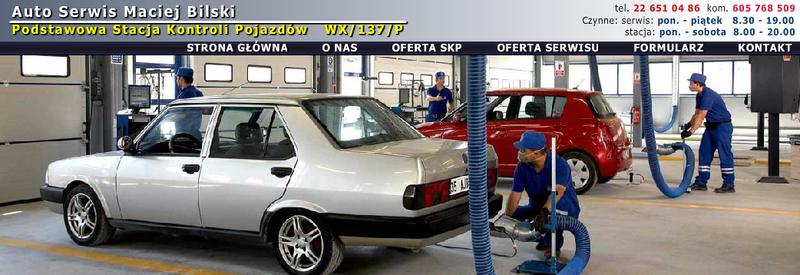 Stacja kontroli pojazdów Auto Serwis Maciej Bilski PSKP WX/137/P zdjęcie 0